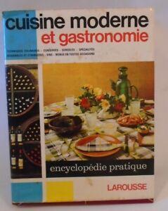 Details About Cuisine Moderne Et Gastronomie Larousse French Cookbook 617 Pages Vintage 1967