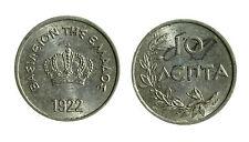 pci3851) GRECIA  10 lepta 1922