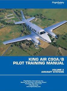 king air c90a b pilot training manual ebay rh ebay com King Air 100 King Air 300