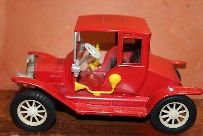 Spielzeug Autos & Lkw Temperamentvoll Sehr Schön Groß 50er Jahre/60er Jahre Blech Reibung Puder 1917 Modell T Ford