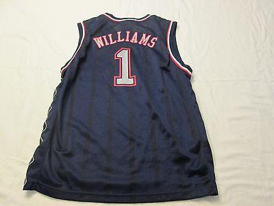 WILLIAMS New Jersey Nets NBA basketball jersey size youth Large 14-16