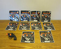 10 Super Cap Guns Toy Pistol Handgun Fires 8 Shot Ring Caps Kids Revolver