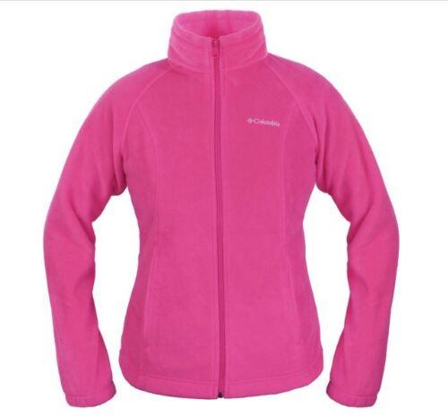 M and L Vest Sizes Columbia  Benton Springs Women/'s Fleece JACKET
