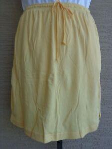 Woman Within Soft Cotton Blend Sport Knit Stretch Waist Skort L 18-20 Heather