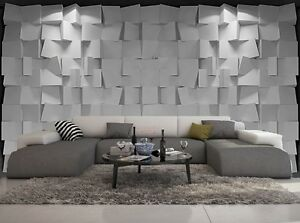 papier peint 3d trompe l oeil moderne photo murale 3d 005 ebay. Black Bedroom Furniture Sets. Home Design Ideas