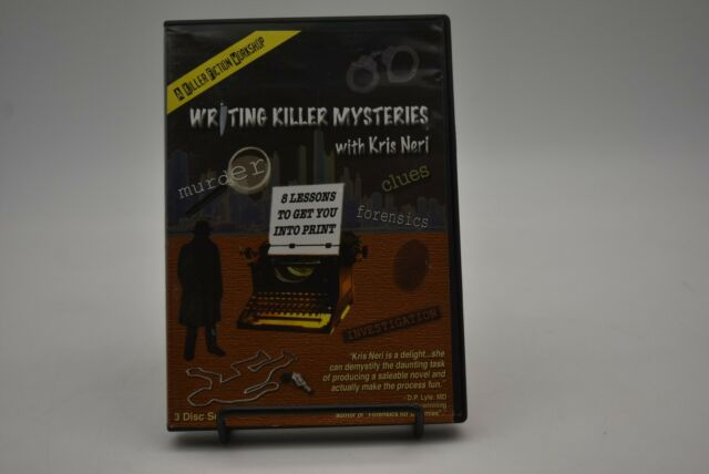Writing Killer Mysteries 8 Lessons to Get You Into Print Instructional DVD
