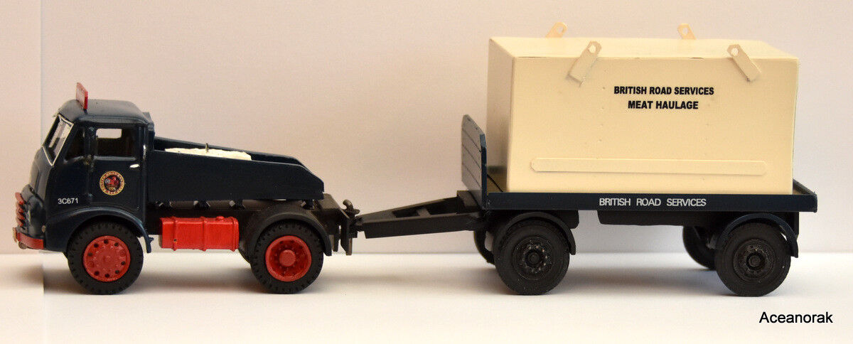 1 43rd Scale Austin BRS Meat Tractor and Trailer