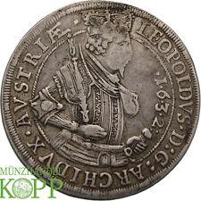 WAL055) RDR ERZHERZOG LEOPOLD V., 1619 - 1632 Taler 1632 HALL