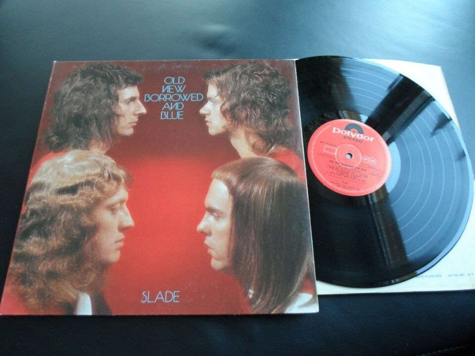 LP, Slade, Old New Borrowed And Blue