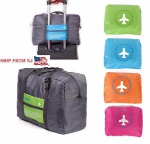 Big-Foldable-Travel-Storage-Luggage-Carry-on-Organizer-Hand-Shoulder-Duffle-Bag