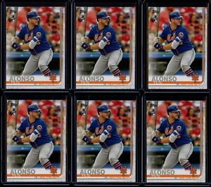 2019 Topps Series 2 Pete Alonso 6 Card RC Lot #475 Rookie New York Mets NYM