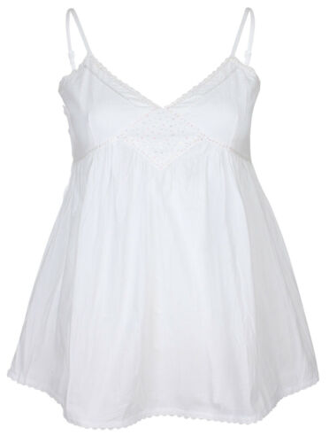 MyMo Femmes Chemisiers-Top Blanc