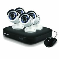 Swann Swdvk-8hd5mp4-us 8 Channel 5mp Security System 2tb Dvr &4x 5mp Cameras on sale