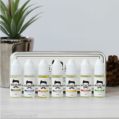 Mo Bro's Beard Oil Gift Pack - 7 Scents in a Premium Gift Tin- Condition Itching