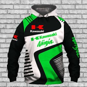 Kawasaki Ninja Motorcycle T-Shirt  SIZE S 5XL *FREE SHIPPING*