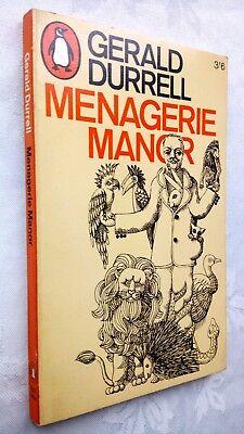 Antiquitäten & Kunst Warnen Gerald Durrell Menagerie Manor 1st/1 S/b 1967 Penguin 2522 Ill R Thompson Unread Schnelle WäRmeableitung