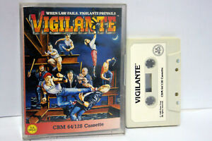 VIGILANTE-US-GOLD-IREM-COMMODORE-64-128-WORK-100-DATASSETTE-ITALIANO-FR1-65540