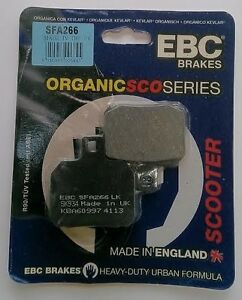 Suzuki UH125 Burgman (2002 to 2006) EBC Organic REAR Disc Brake Pads (SFA266)