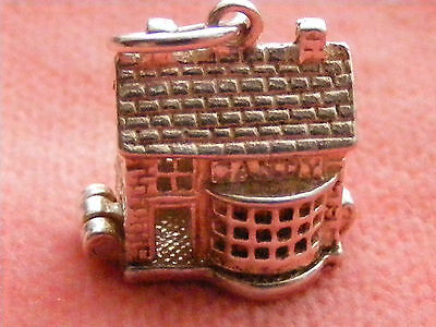 NUVO VINTAGE STERLING SILVER CHARM CANDY  SHOP OPENS