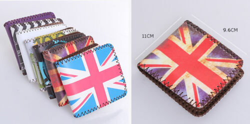 Special Design Wallet Currency Money Pattern BRITISH AMERICAN Flag Design Cool