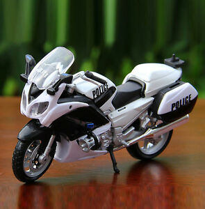 Maisto-1-18-Scale-YAMAHA-FJR-1300A-Police-Racing-Motocycle-Diecast-Model-Gift-To