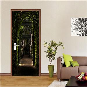 3D Aisle Vines 226 Door Wall Mural Photo Wall Sticker Decal Wall AJ WALLPAPER AU