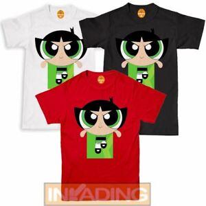 Powerpuff Girls Womens T-Shirt Tee Top Unisex Adult /& Kids Tee Top