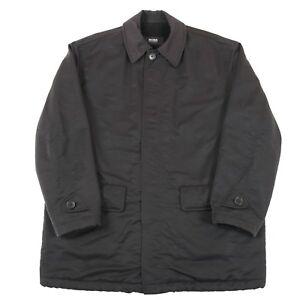 Hugo-Boss-Fleece-Lined-Waterproof-Overcoat-Men-039-s-L-Vintage-Trench-Mac-Coat