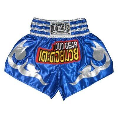 Sizes: XS-XL DUOGEAR SKY BLUE /'CERIUS/' THAI KICKBOXING TRAINING FIGHTER SHORTS