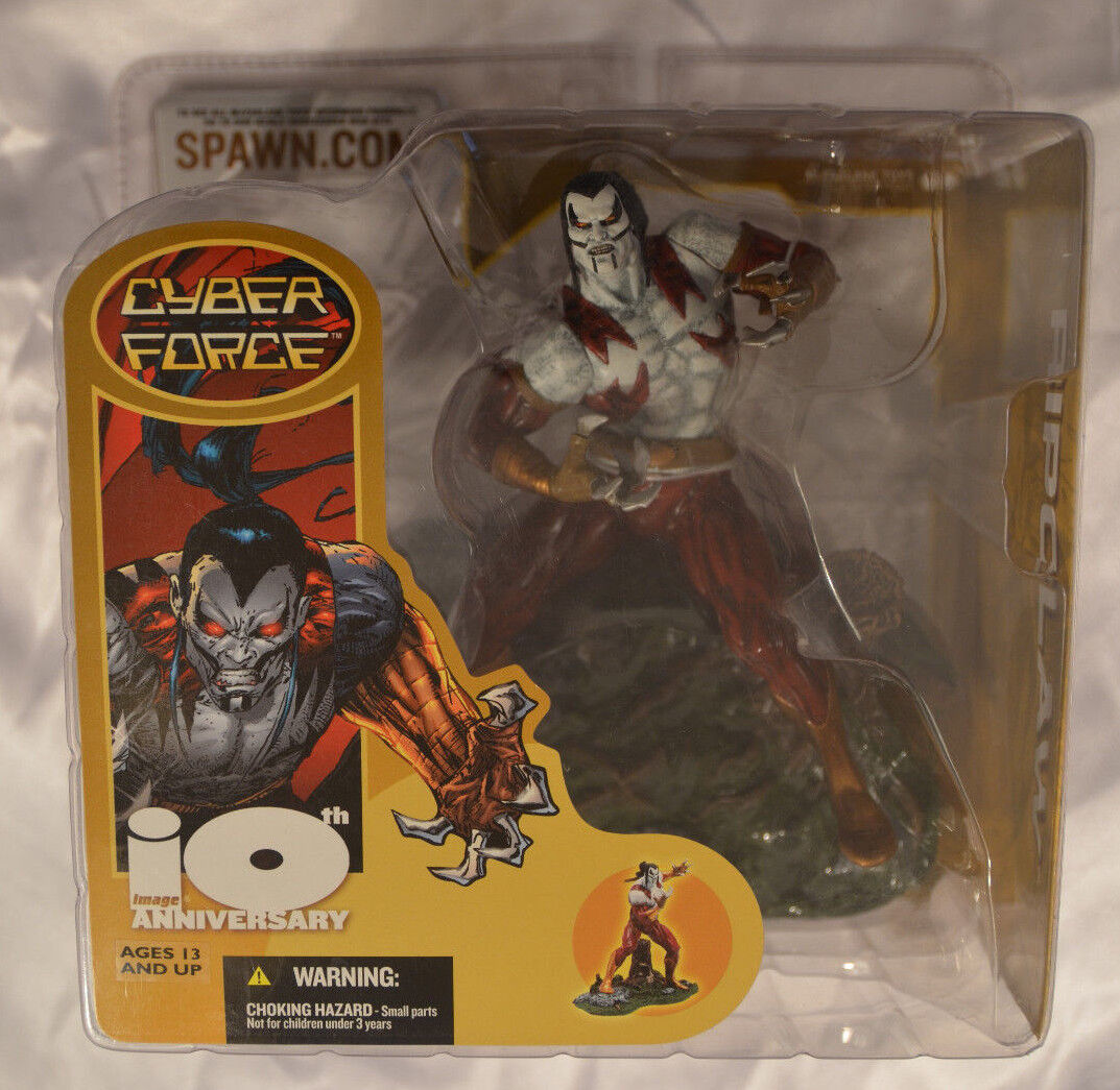 McFarlane Image 10th Anniversary Cyber Force Ripclaw Figure New Factory Sealed