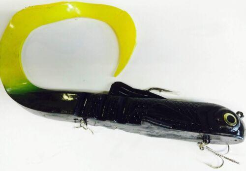 Fatkat Bull Dog Swimbait Alienfish 23cm 195g Riesentwister Jerkbait Hecht