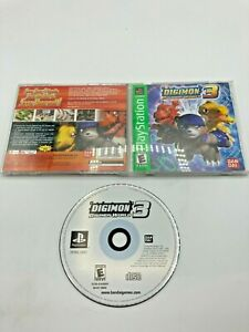 Sony-PlayStation-1-PS1-CIB-Complete-Tested-Digimon-World-3-Ships-Fast-GREATEST