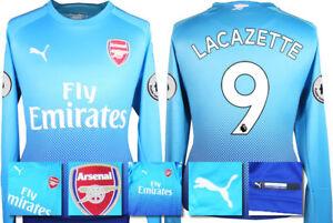 17   18 - puma   arsenal away shirt ls + patches   lacazette 9   adults 1fb3ebe4e