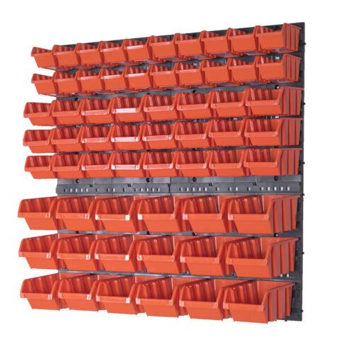 Stapelboxen Wandregal Box Sichtlagerkästen Schüttenregal Lagersystem
