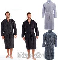 tesco mens navy stripe dressing gown size xlarge ebay. Black Bedroom Furniture Sets. Home Design Ideas