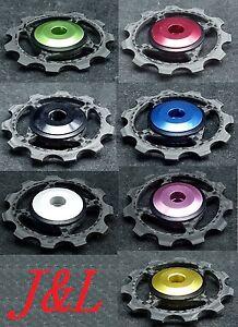 J-amp-L-Rear-Derailleur-Ceramic-Carbon-Pulley-Jockey-Fit-Shimano-SRAM-amp-Campagnolo-5g