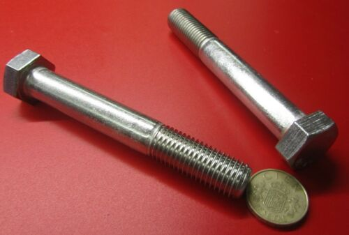 FT Metric M16 x 2 x 110 mm Length 2 Units 18-8 A2 Stainless Steel Bolt