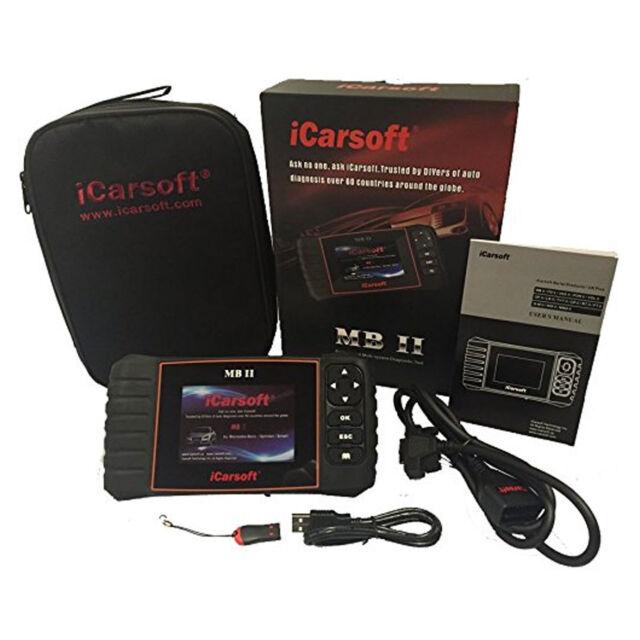 iCarsoft MB II for Mercedes-Benz Sprinter Diagnostic Code Reader Scan Tool  OBD 2