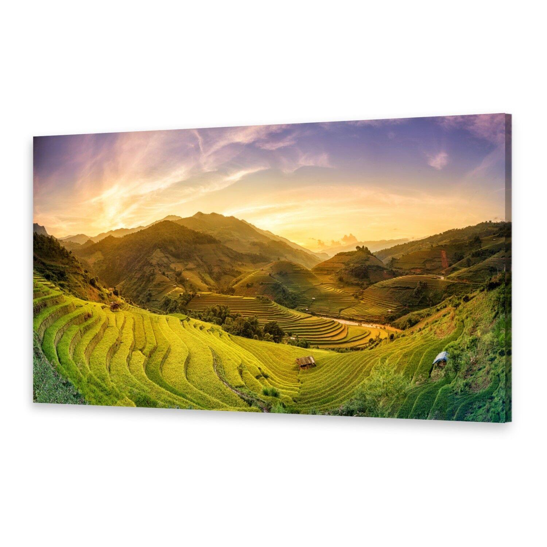 - Tela Immagini Immagine Parete stampa su canvas stampa d'arte campi di riso