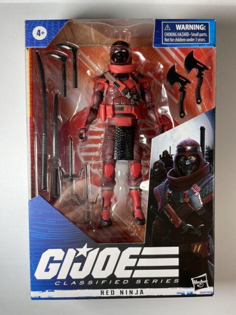 Hasbro GI Joe Classified Red Ninja Action Figure