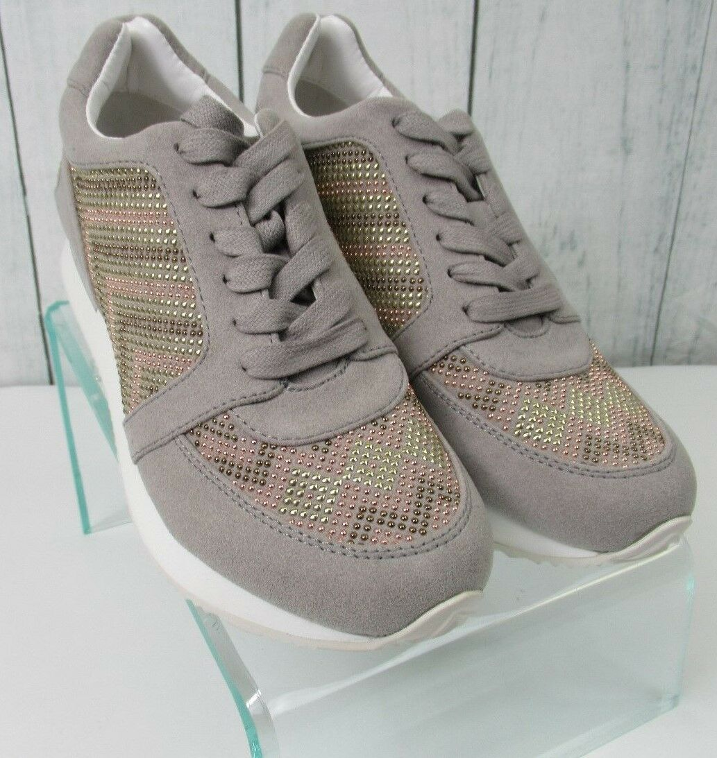 Katy Perry Damenschuhe The Babes Low Top  Beaded Metallic Sneakers Schuhe Größes 6 & 6.5