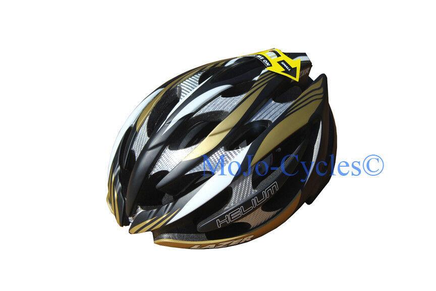 Lazer Helium casco de Cochebono negro oro plata XXS-S 20.09-22.06  Pulgadas Nuevo  ventas calientes