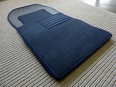 $$$ Original Lengenfelder Fußmatten Für Mercedes Benz R129 W129 Sl + Blau + Neu Modernes Design