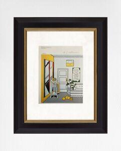 Roy-Lichtenstein-1981-Original-Print-Hand-Signed-with-Certificate-Resale-5-650