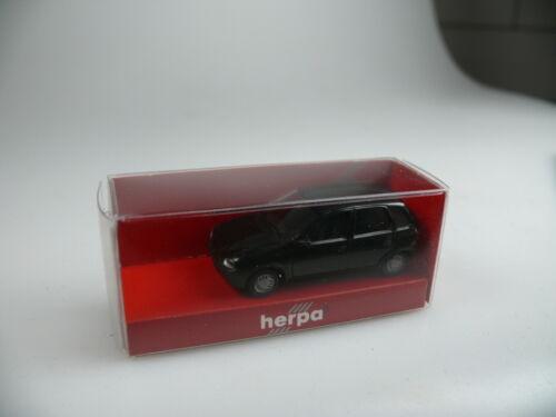 neu Herpa 021371 OPEL CORSA schwarz