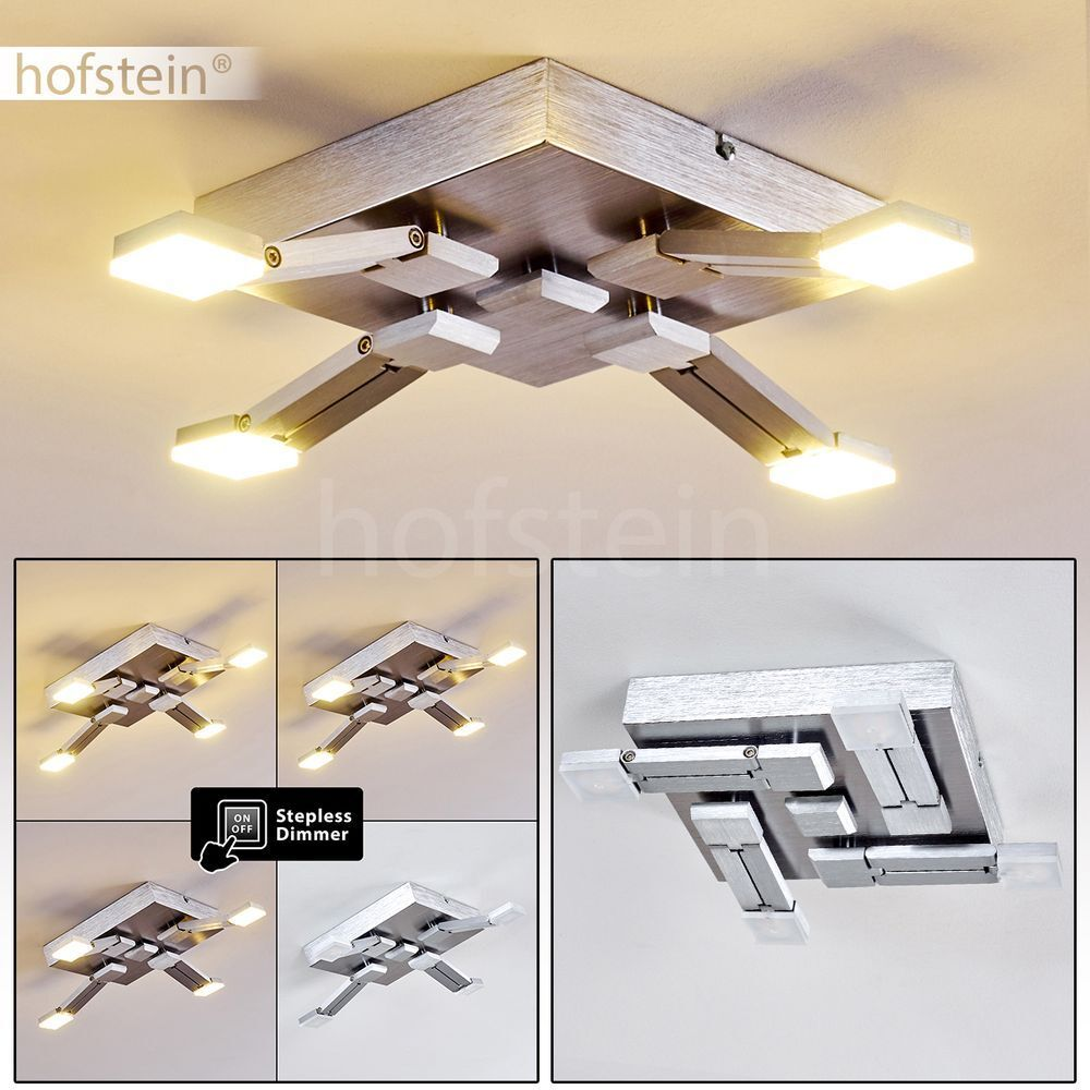 Plafonnier LED Lustre Lampe à suspension ajustable Lampe de corridor Luminaire