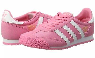 adidas Originals Dragon OG Women's Girl's Junior Trainers Shoes Pink BB2489 | eBay