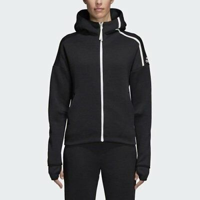 Women's Adidas Athletics Z.N.E Fast Release Hoodie Black [z] DM5024 | eBay