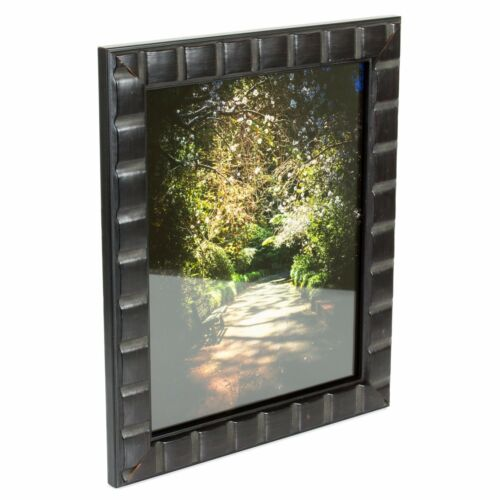 1.375 Inch Erie Black Solid Wood Picture Frame Craig Frames Mosaic