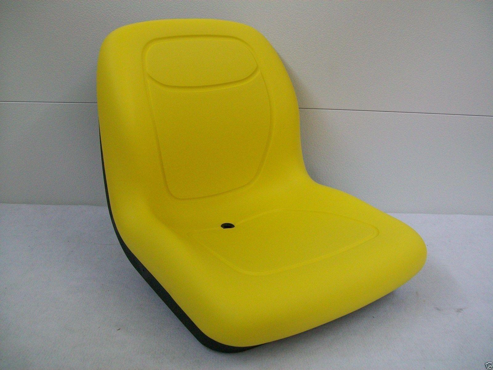 Amarillo XB180 alto asiento trasero para John Deere Gators Hecho en EE. UU. por MILSCO  BI